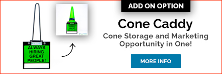Cone Caddy available from Ballard Inc