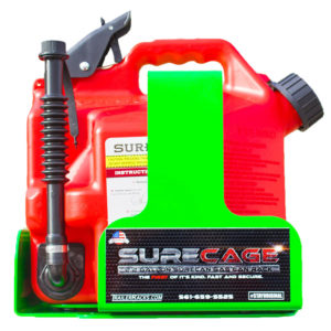 SureCage 2.2 Gallon Gas Can