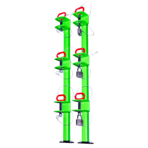 3 Place Classic Trimmer Rack (Open Trailers)