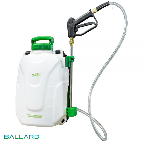 Strom Electric Backpack Sprayer from Ballard Inc