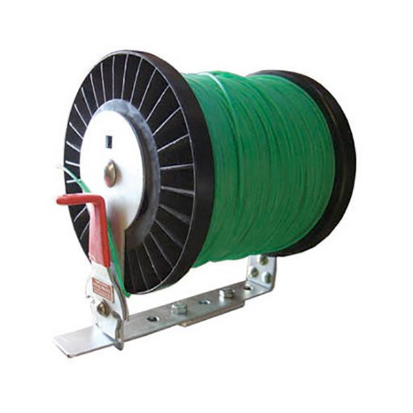Adjustable Line Spool Rack with Cutter