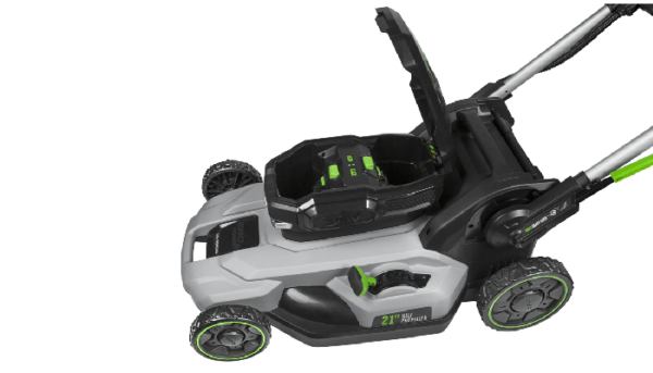 "Power+ 21"" Self-Propelled Lawn Mower with Peak Power™ with (2) 5.0Ah batteries and rapid charger"