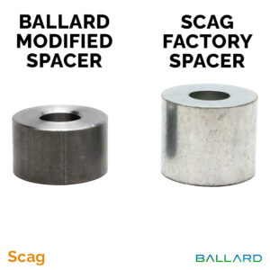 SCAG X-Blade Spindle Spacer